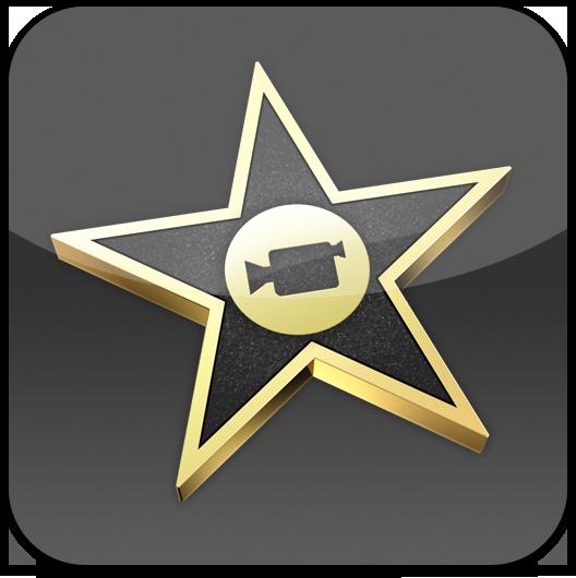 Ícone do iMovie para iPhone 4