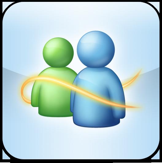 Ícone do Windows Live Messenger para iOS