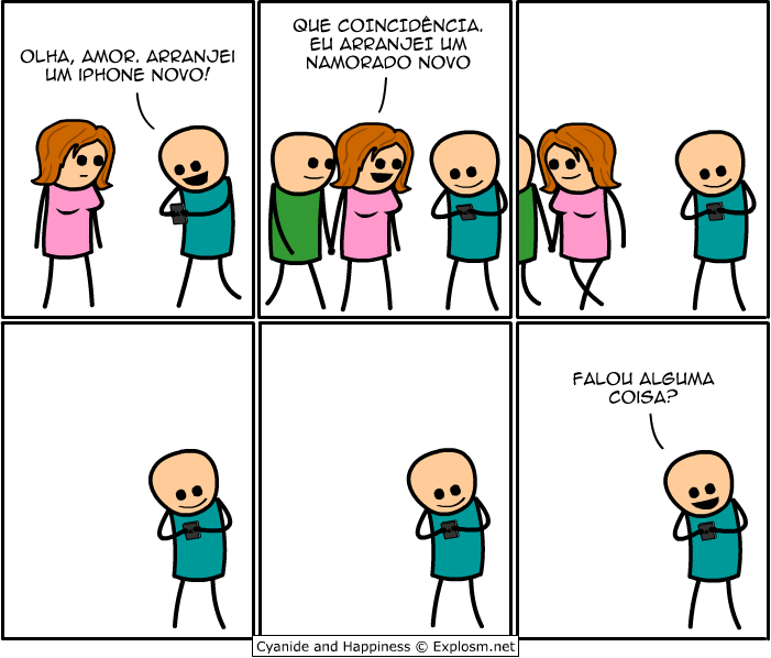 Tirinha do Cyanide & Happiness
