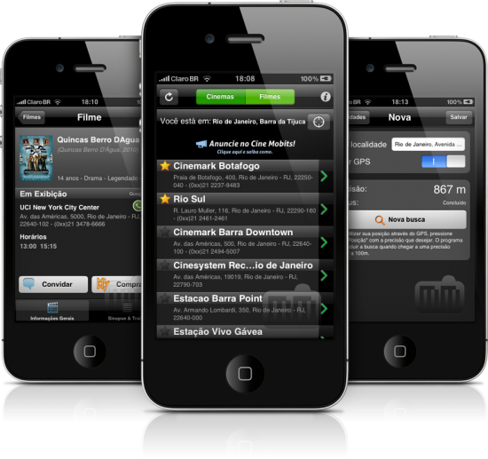 Cine Mobits em iPhones