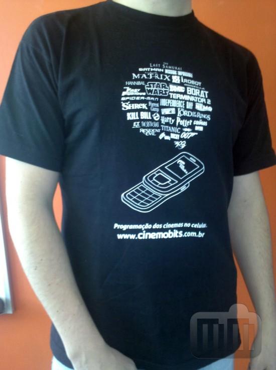 Camiseta do Cine Mobits