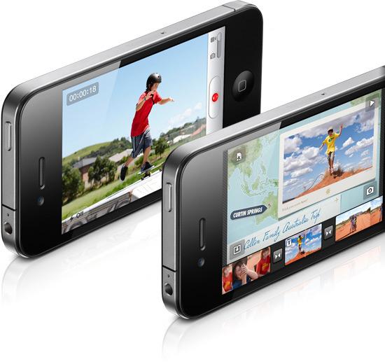 Câmera do iPhone 4 faz filmagens em HD