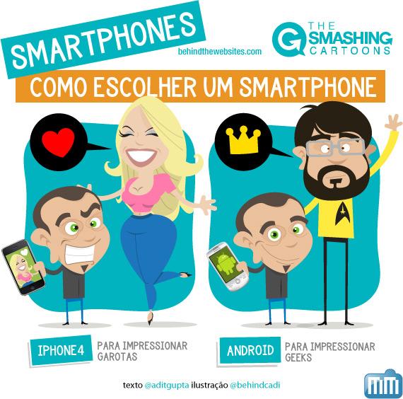 The Smashing Cartoons - Como escolher um smartphone