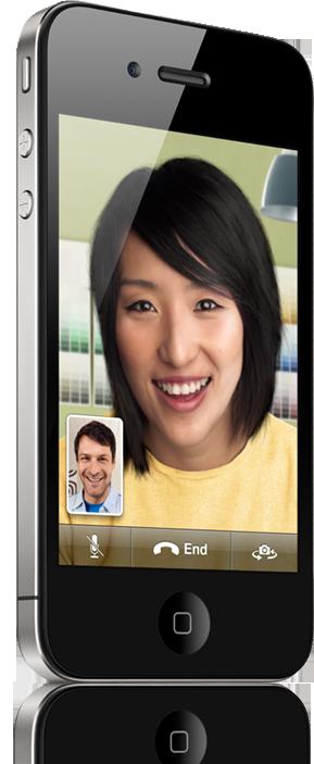 FaceTime no iPhone 4