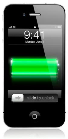 Bateria de um iPhone 4