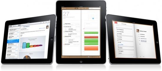 iPad e apps empresariais
