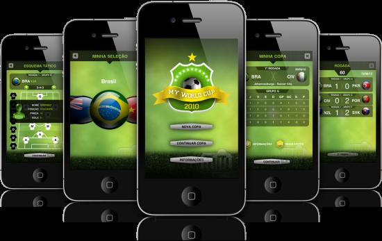 My World Cup 2010 em iPhones