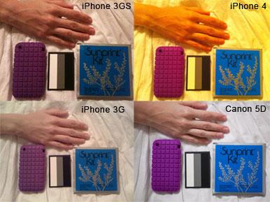 Fotos amareladas no iPhone 4