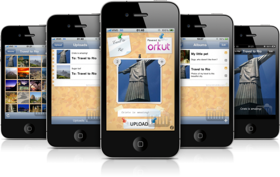 OrkUp 2.0 em iPhones