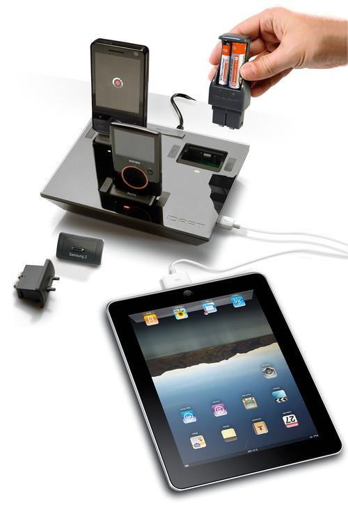 IDAPT i4 com gadgets conectados