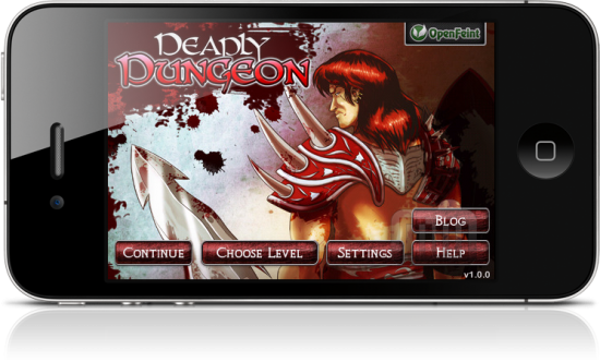 Deadly Dungeon no iPhone