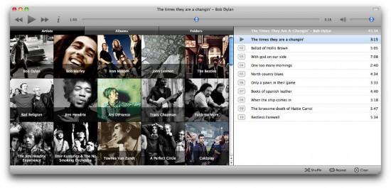 Minitunes no Mac OS X