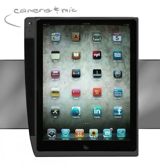 Case com câmera para iPad