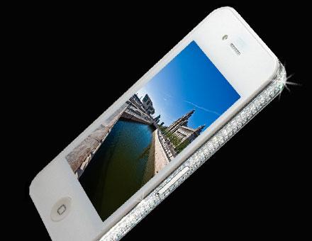 iPhone 4 Diamond Edition, de Stuart Hughes
