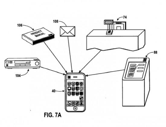 Patente da Apple para RFID em iPhones