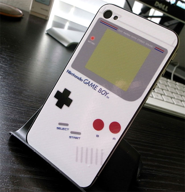 iBoy para iPhone 4, de Game Boy