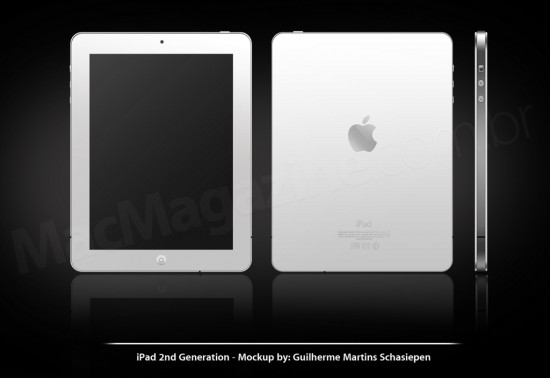 Conceito de iPad baseado no iPhone 4