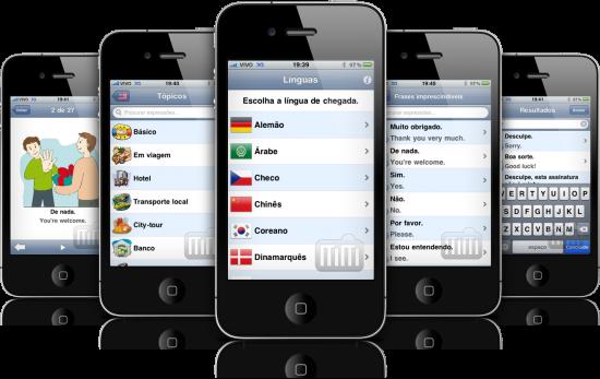 Tradutor de Viagem em iPhones