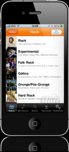 Sonora 1.1.0 no iPhone