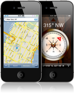 Google Maps no iPhone 4