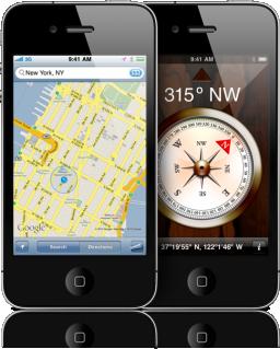 Google Maps no iPhone 4