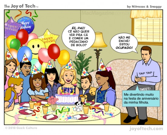 Joy of Tech - Tuitando momentos