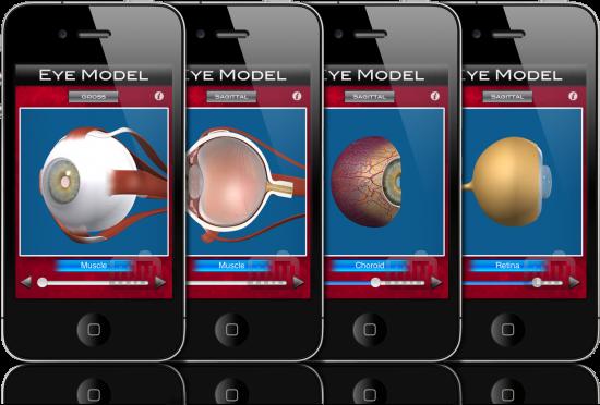 Eye Model em iPhones