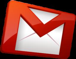 Logo estilizado do Gmail