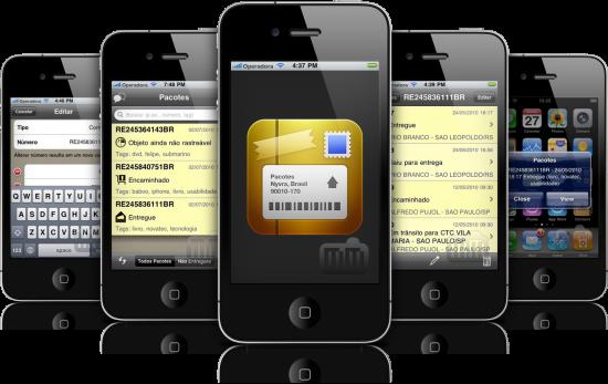 Pacotes em iPhones