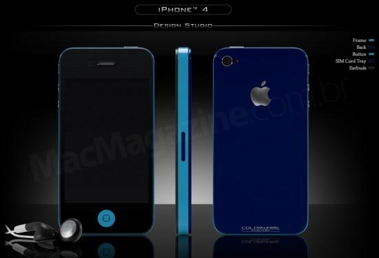 iPhone 4 pintado pela ColorWare