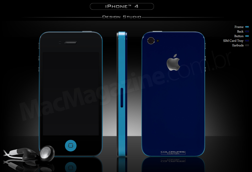 iPhone 4 pintado pela ColorWare