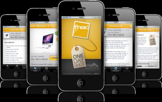Fnac One Day Shot em iPhones