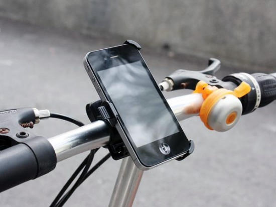 Suporte de bicicleta para iPhone 4