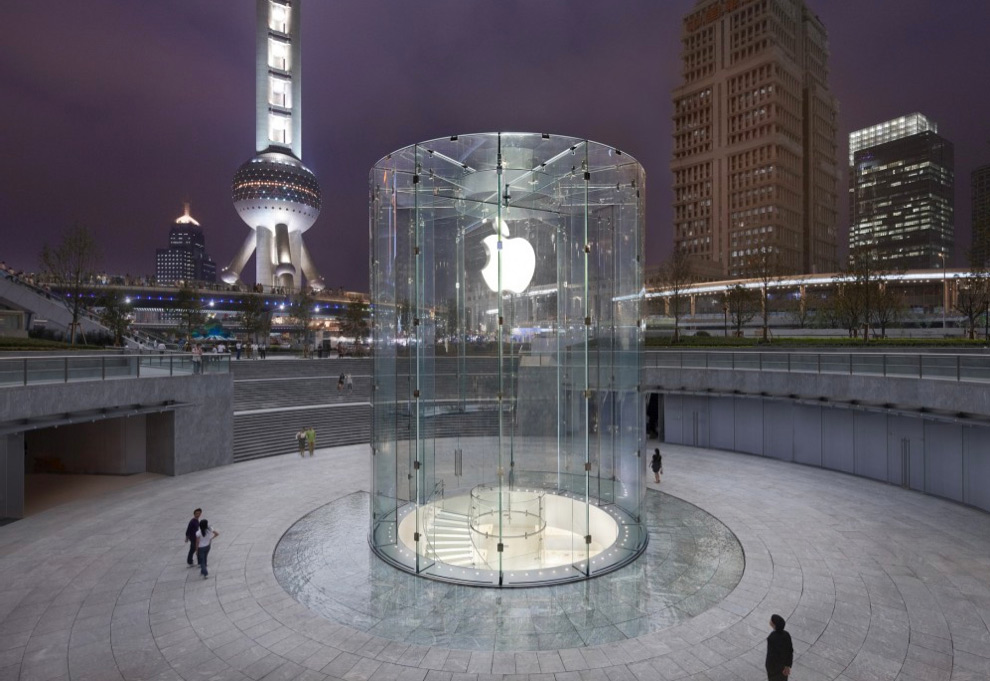 Apple Retail Store de Xangai, na China