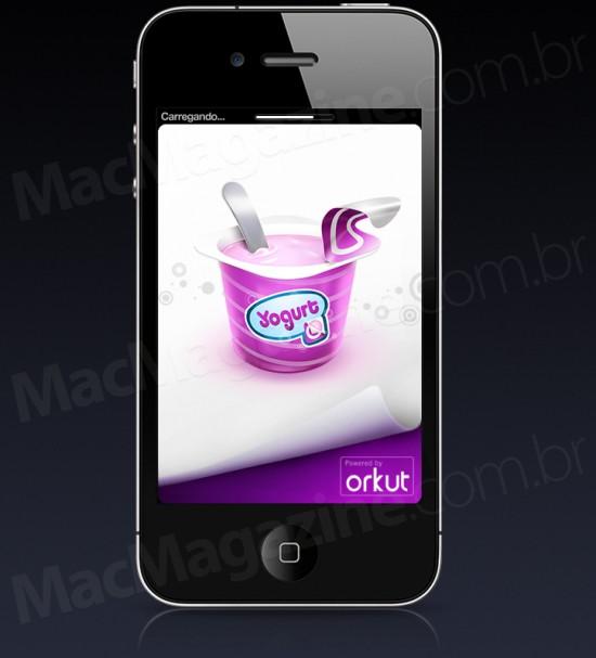 Yogurt no iPhone