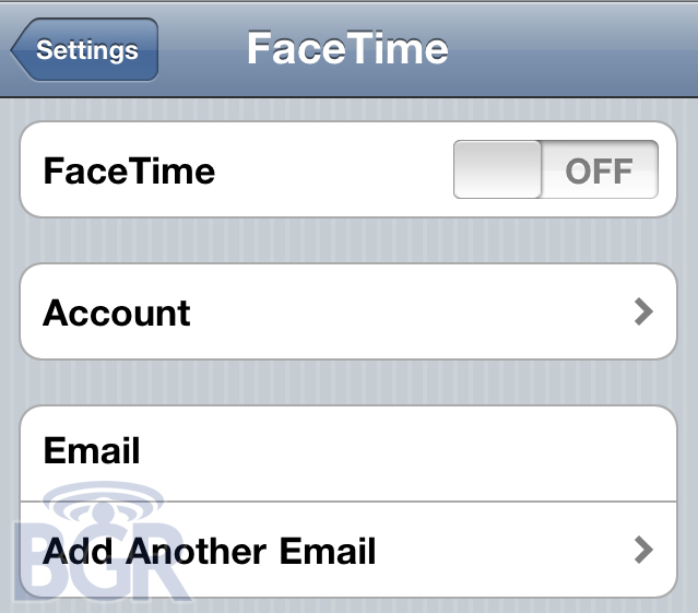 FaceTime no iOS 4.1 Beta