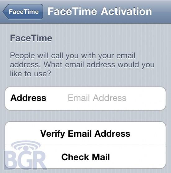 FaceTime no iOS 4.1 Beta