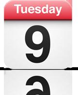 Ícone do MobileMe Calendar