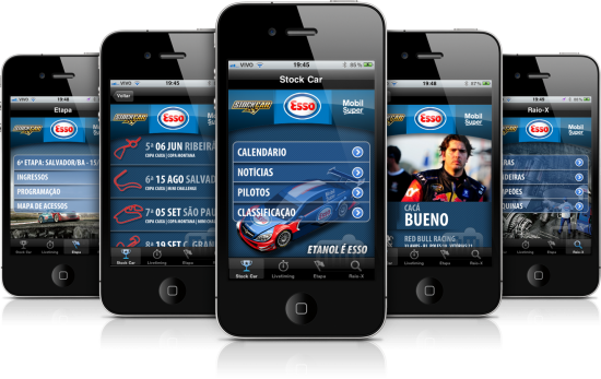 StockCar em iPhones