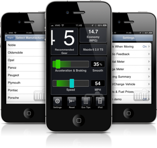 DriveGain em iPhones