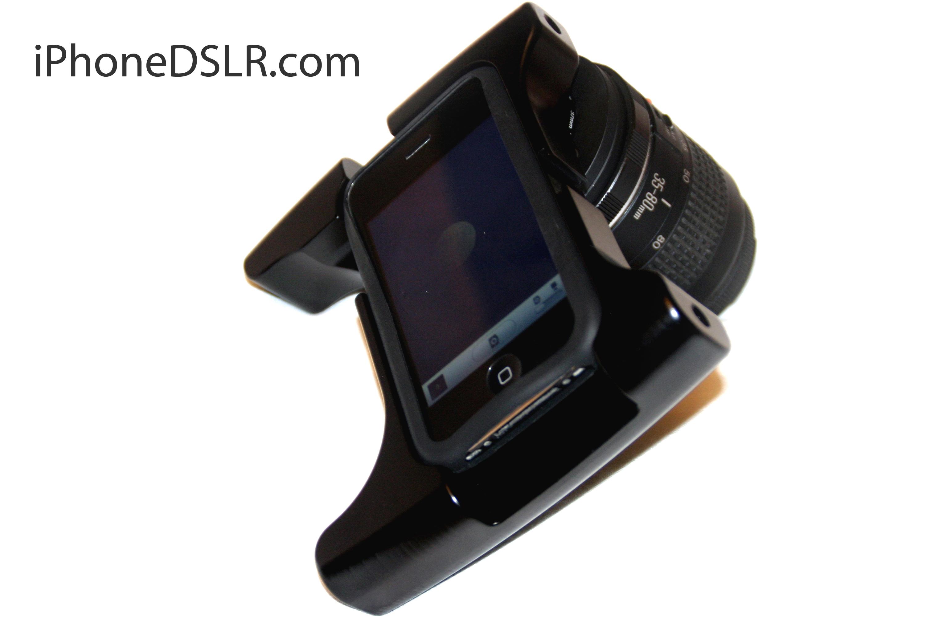 iPhone DSLR com OWLE Bubo