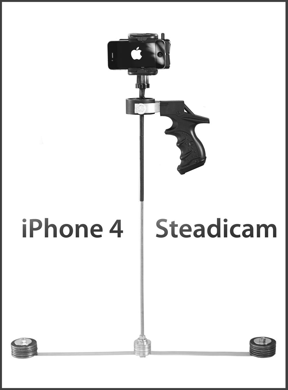 iPhone 4 - Steadicam