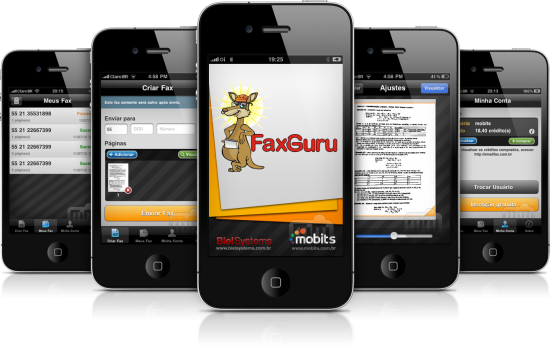 FaxGuru em iPhones