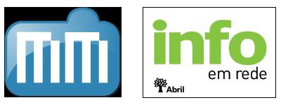 Logos do MacMagazine e da INFO em Rede