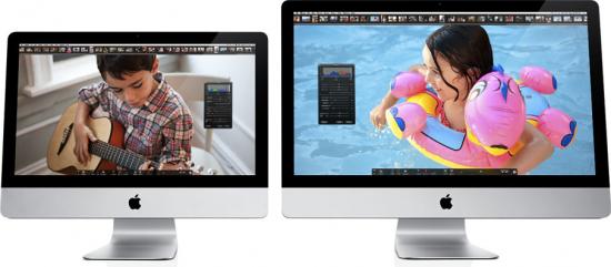 iMacs 2010 de frente