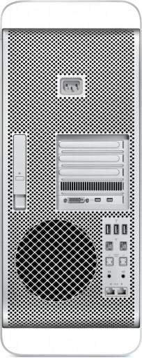 Traseira do novo Mac Pro