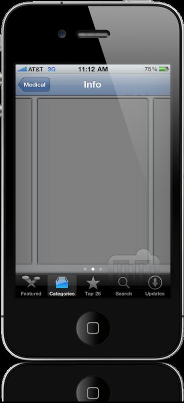 Bug nas screenshots do iPhone