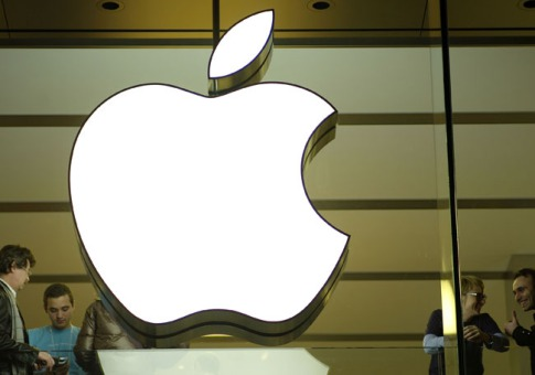 Logo em loja da Apple