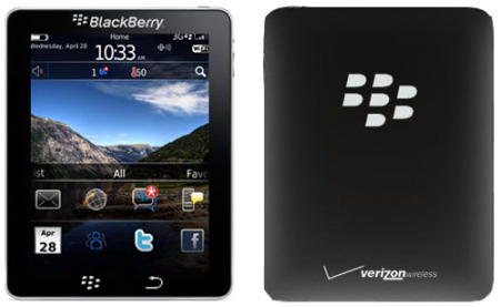 Tablet BlackBerry - BlackPad?