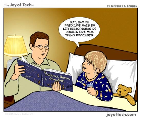 Joy of Tech - Historinhas de Dormir
